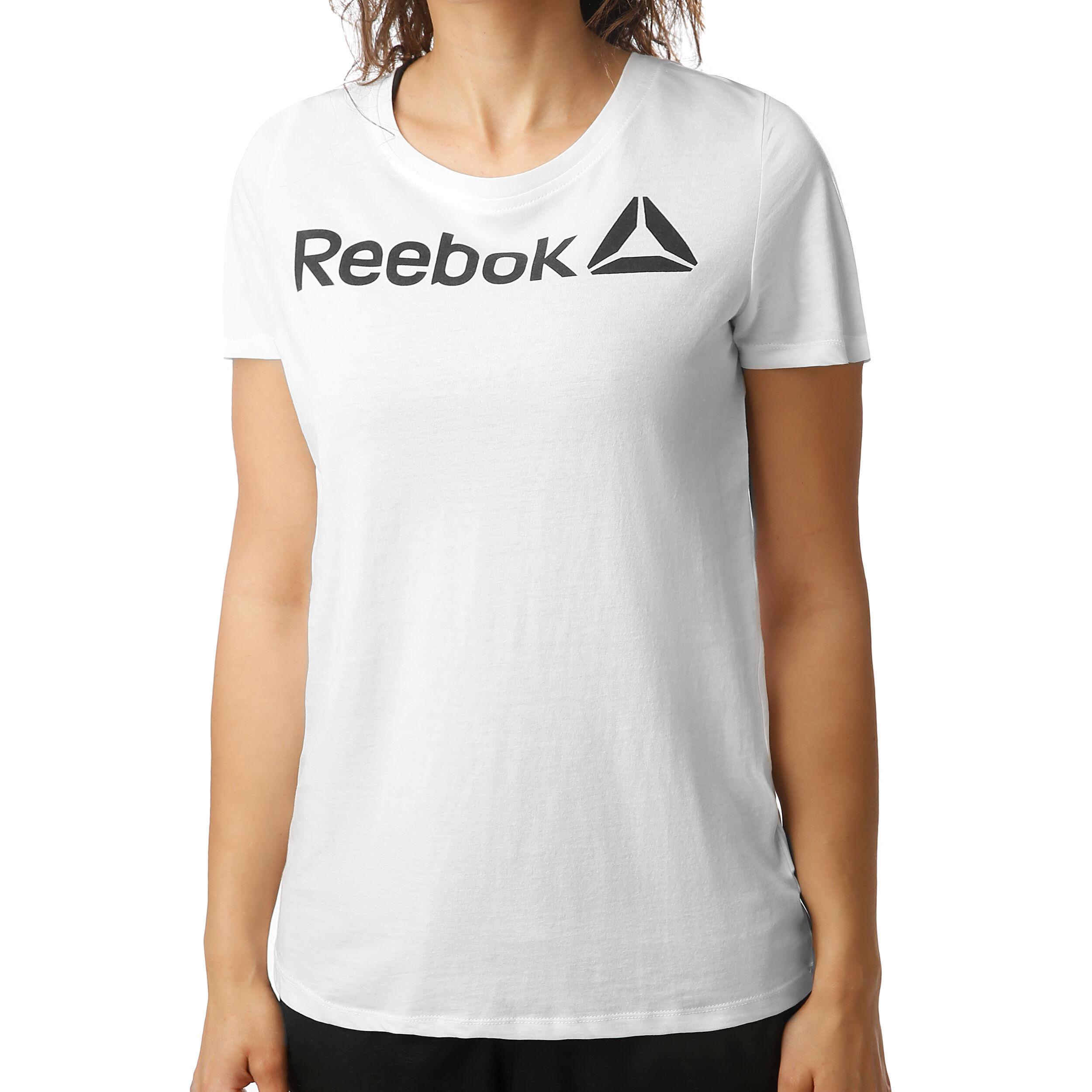 reebok online cheap shoes, Reebok Scoop Neck Tee White