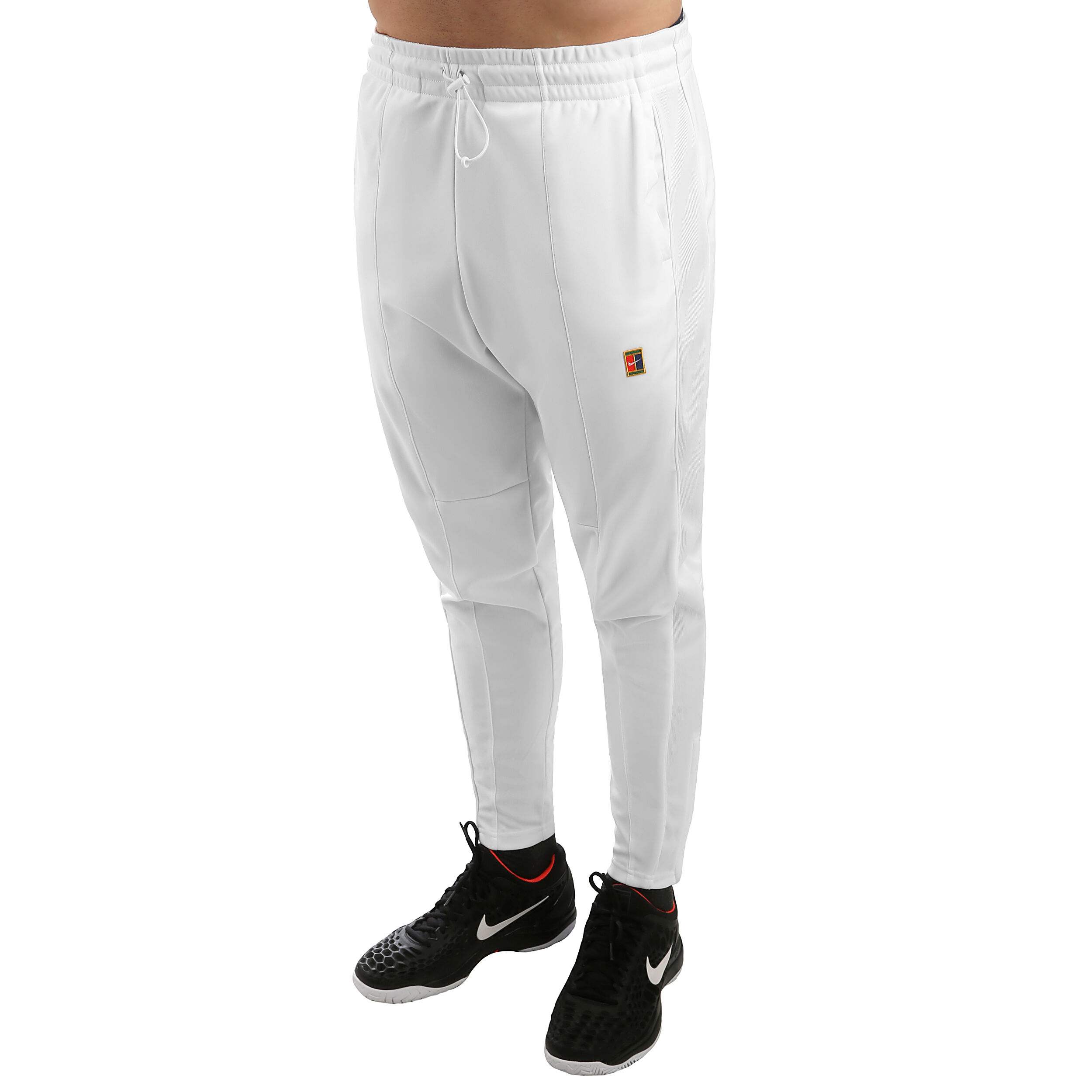 Nike Court Essential Trainingsbroek Heren Wit, Rood online