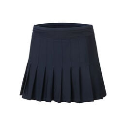 Long Retro Pleated Skirt Women