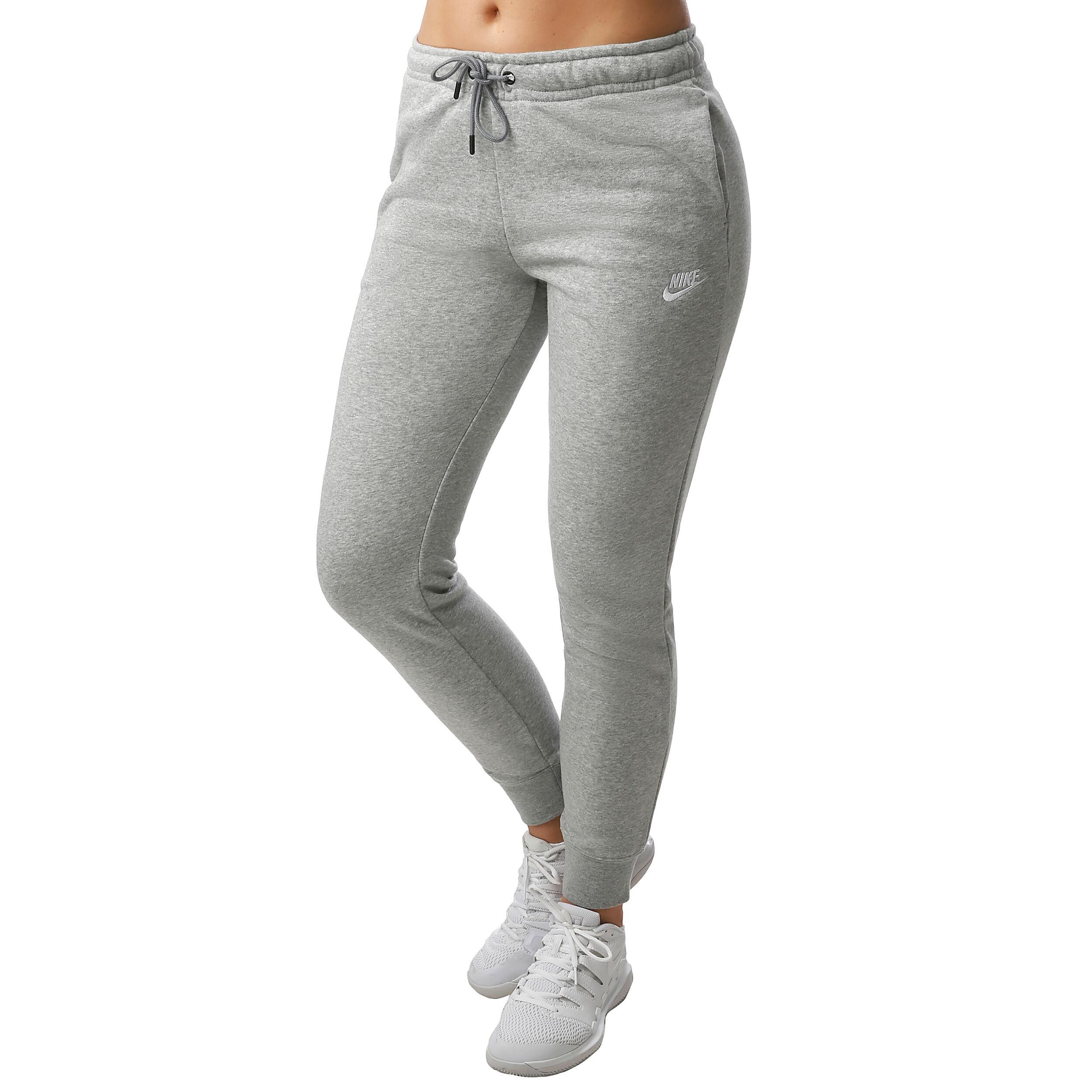 Nike Sportswear Essential Trainingsbroek Dames - Lichtgrijs ...