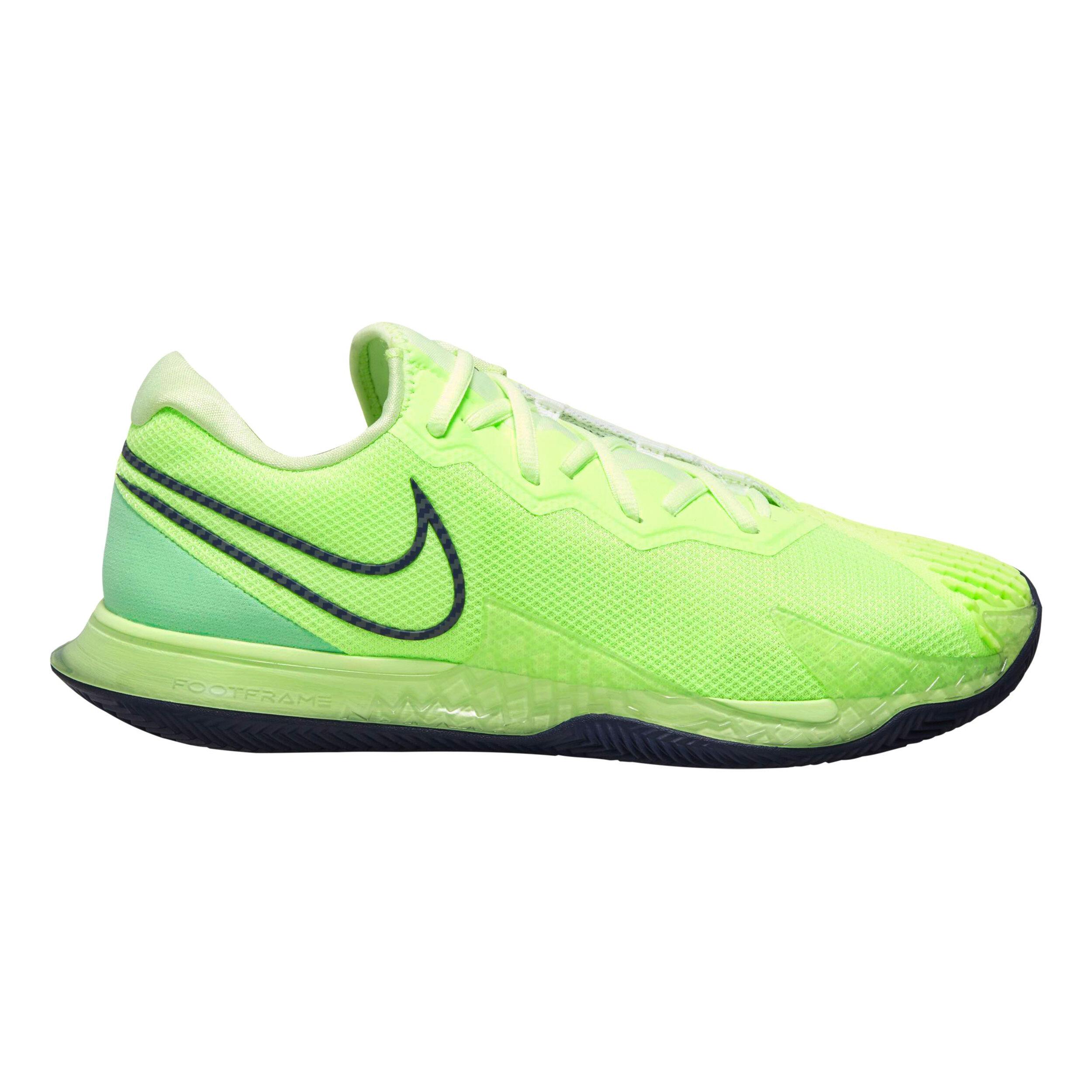 Nike Air Zoom Vapor Cage 4 Clay Allcourt Schoen Heren Lichtgroen, Donkerblauw