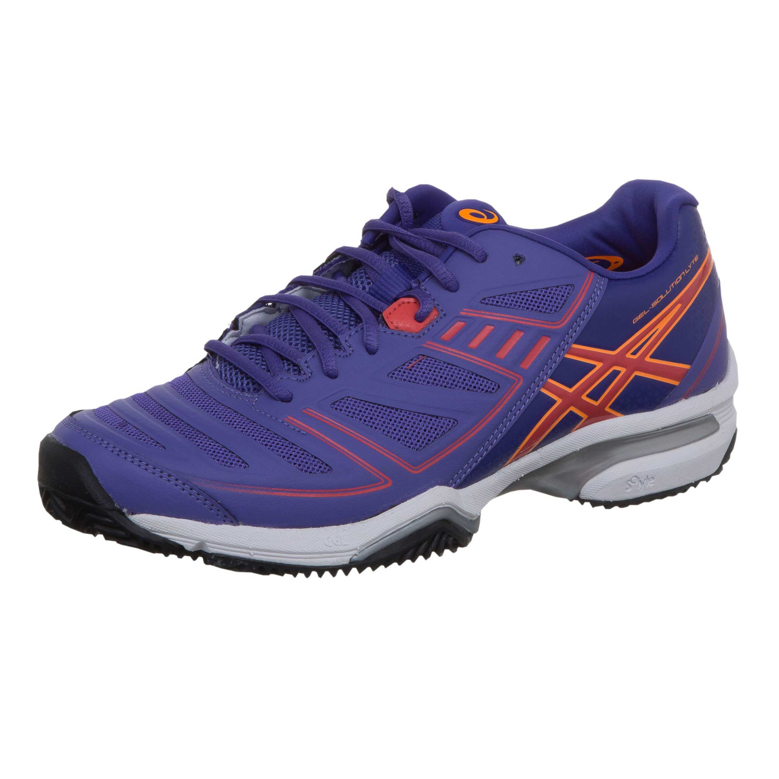 Asics Gel Solution Lyte 2 Clay Gravelschoen Dames Paars