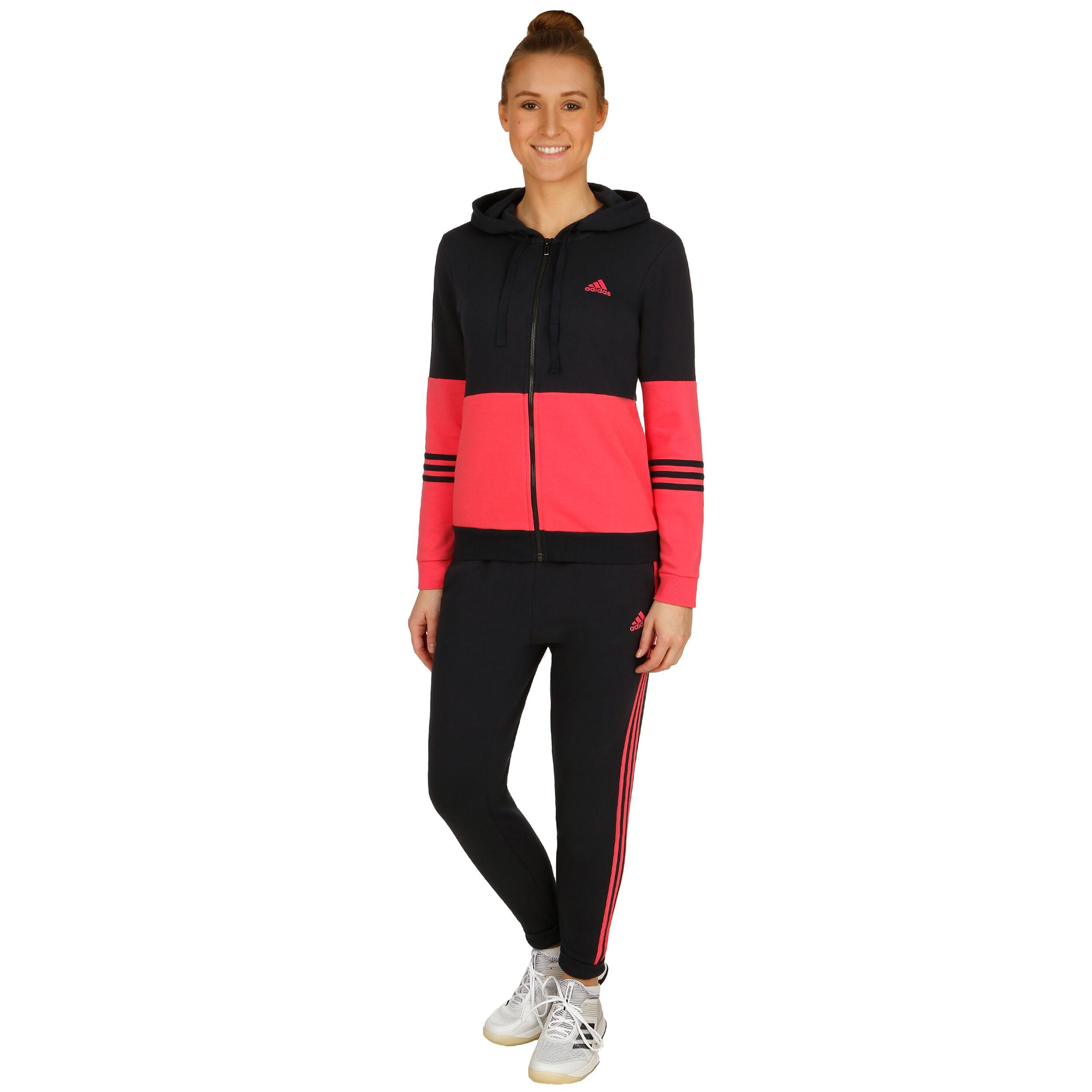adidas Co Energize Trainingspak Dames Donkerblauw, Pink