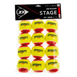 Mini Tennis Stage 3 Red, 12er (2019)