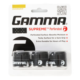 Gamma Übergriffband Supreme Perforated Overgrip 3er-Pack Weiß