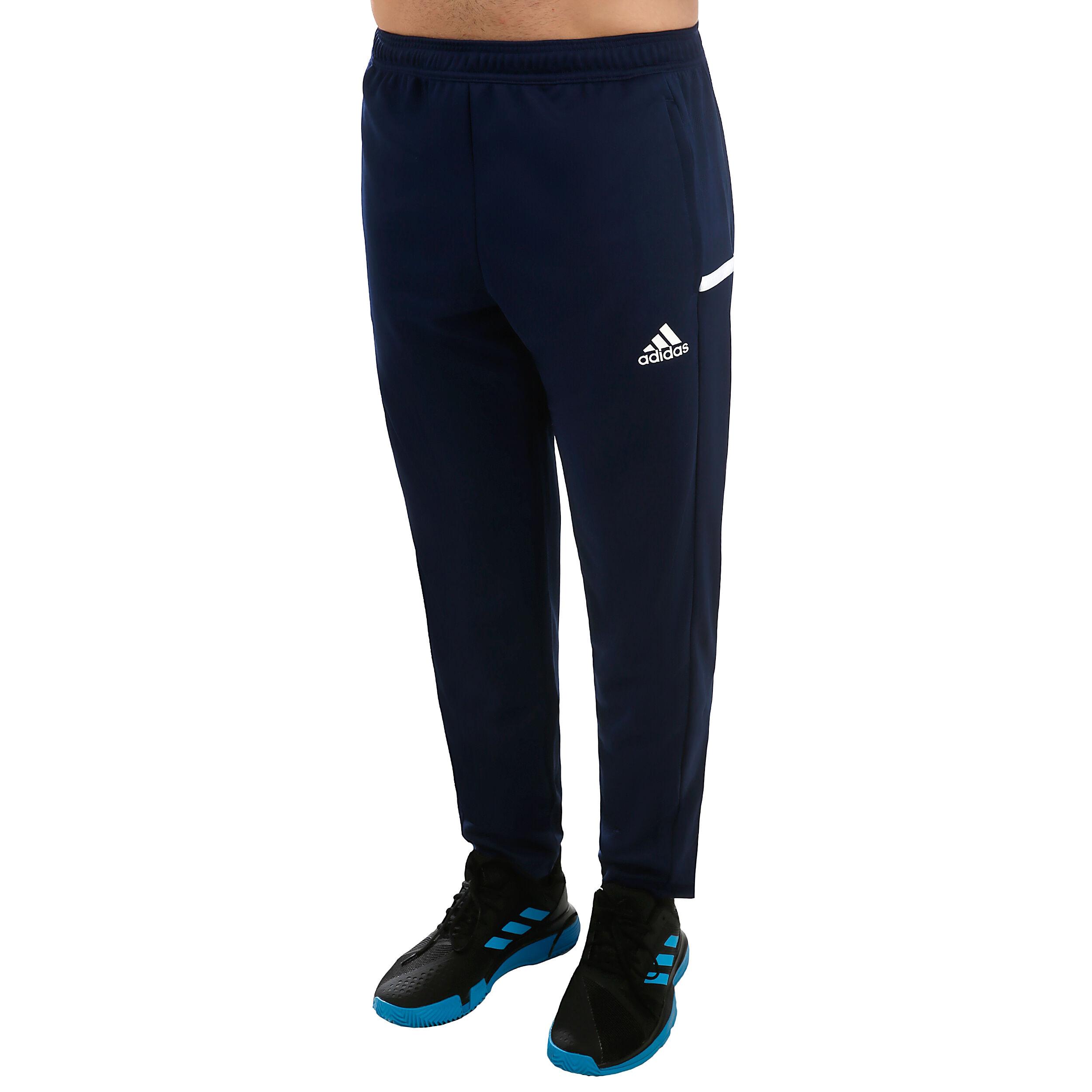 adidas Training T19 Trainingsbroek Heren Donkerblauw, Wit