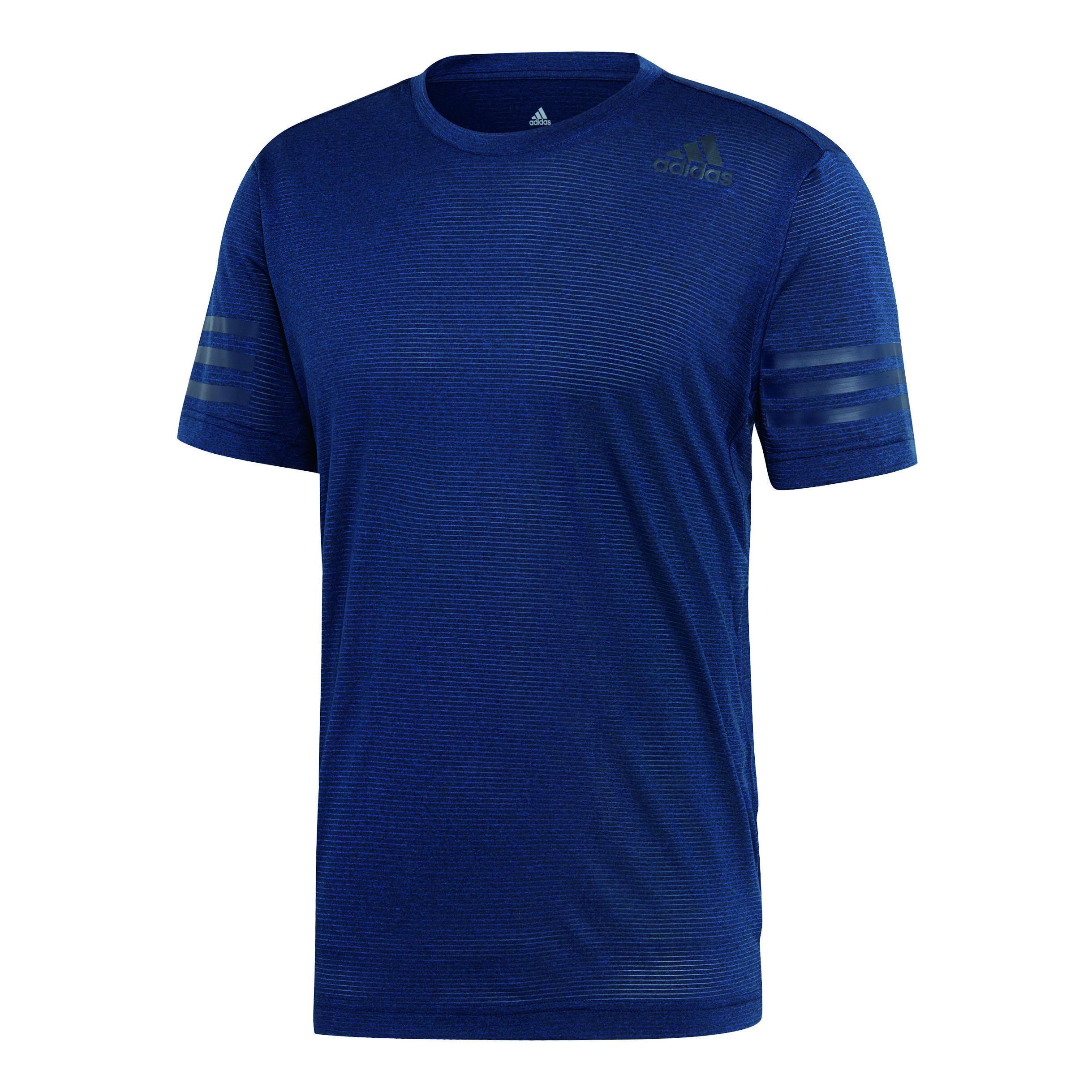 adidas FreeLift Climacool T shirt Heren Donkerblauw, Zwart
