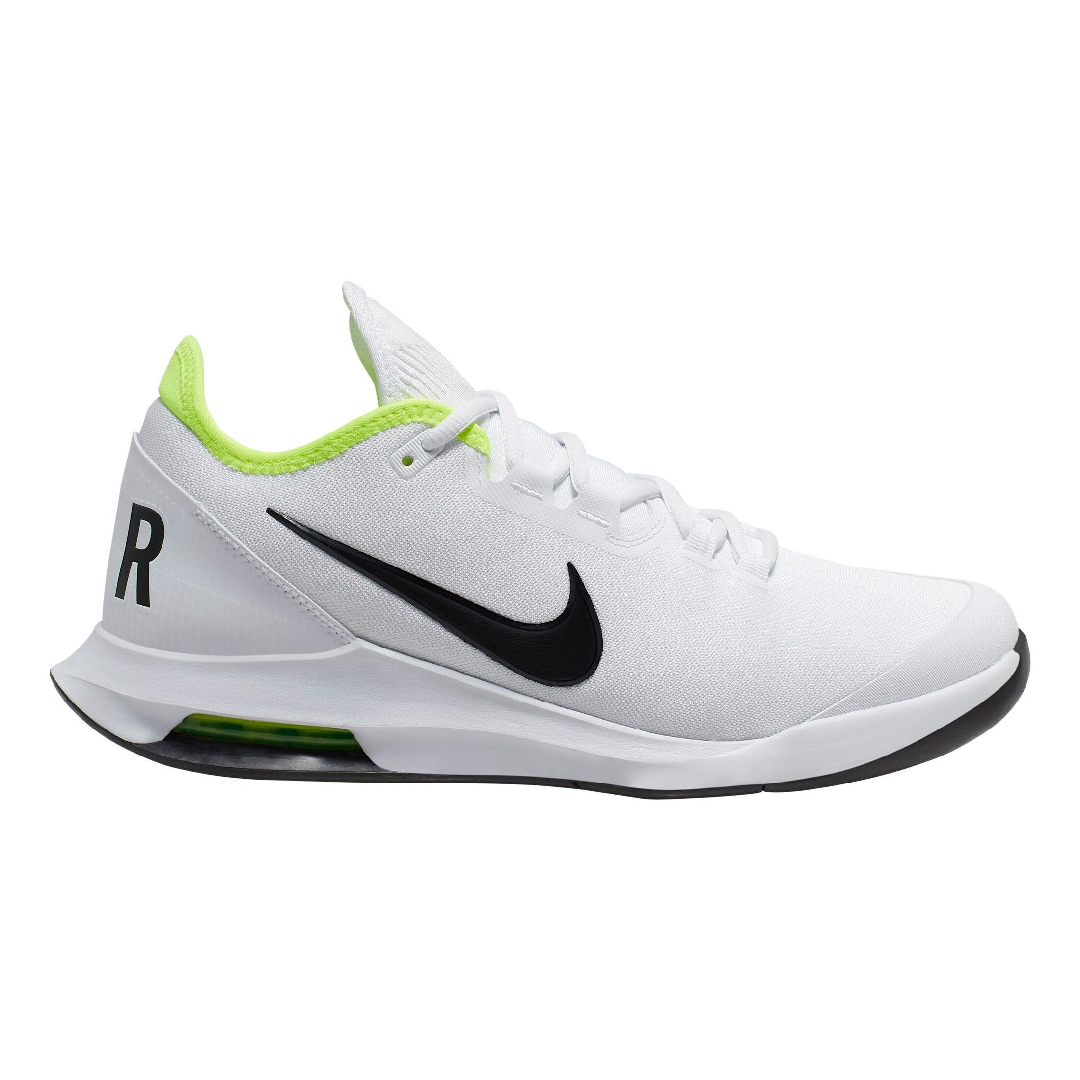 Nike Air Max Wildcard Allcourt Schoen Heren Wit, Neongroen