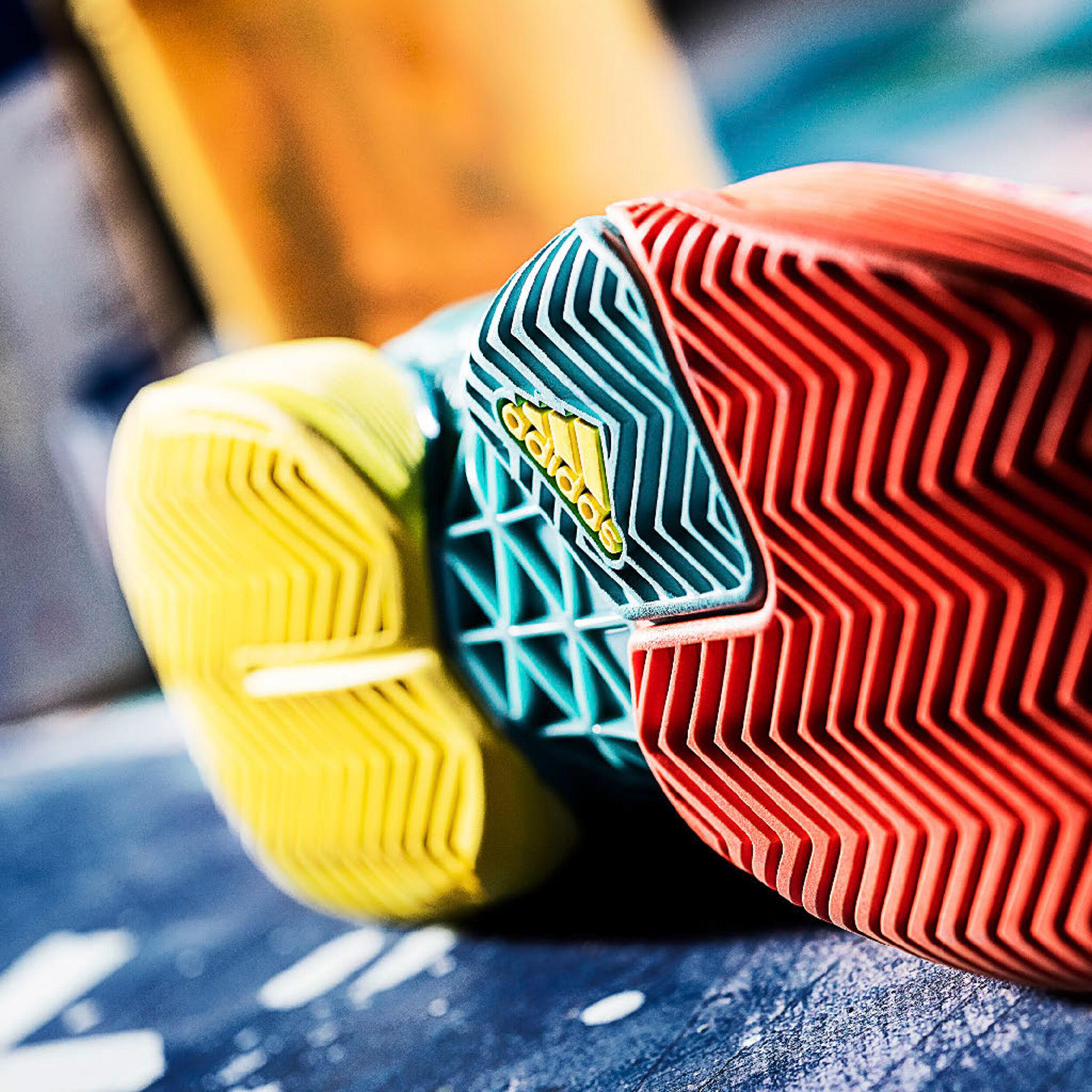 adidas Barricade 2017 Pop Art Allcourt Schoen Heren