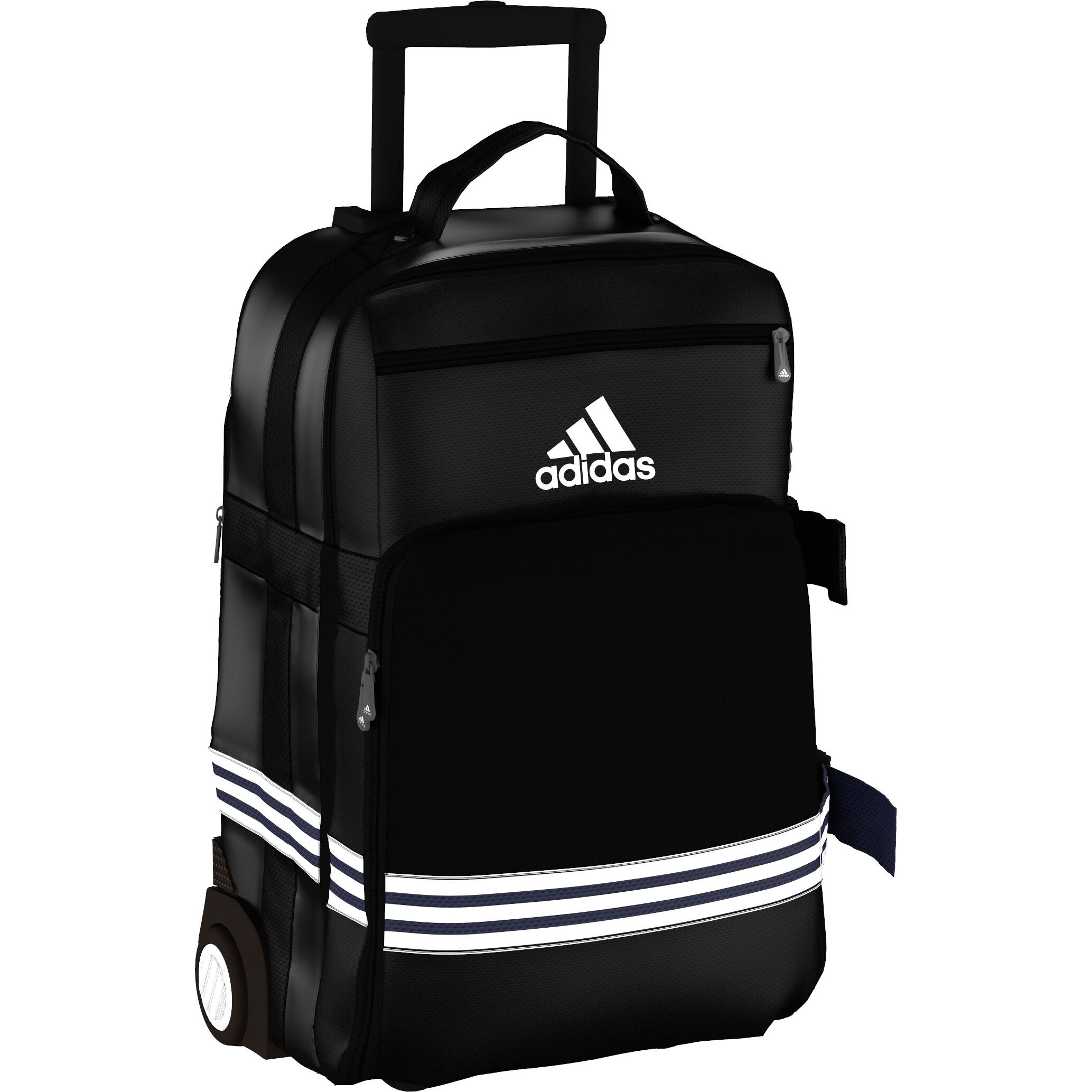 adidas 3S Travel Trolley Cabin Size Taszak Zwart