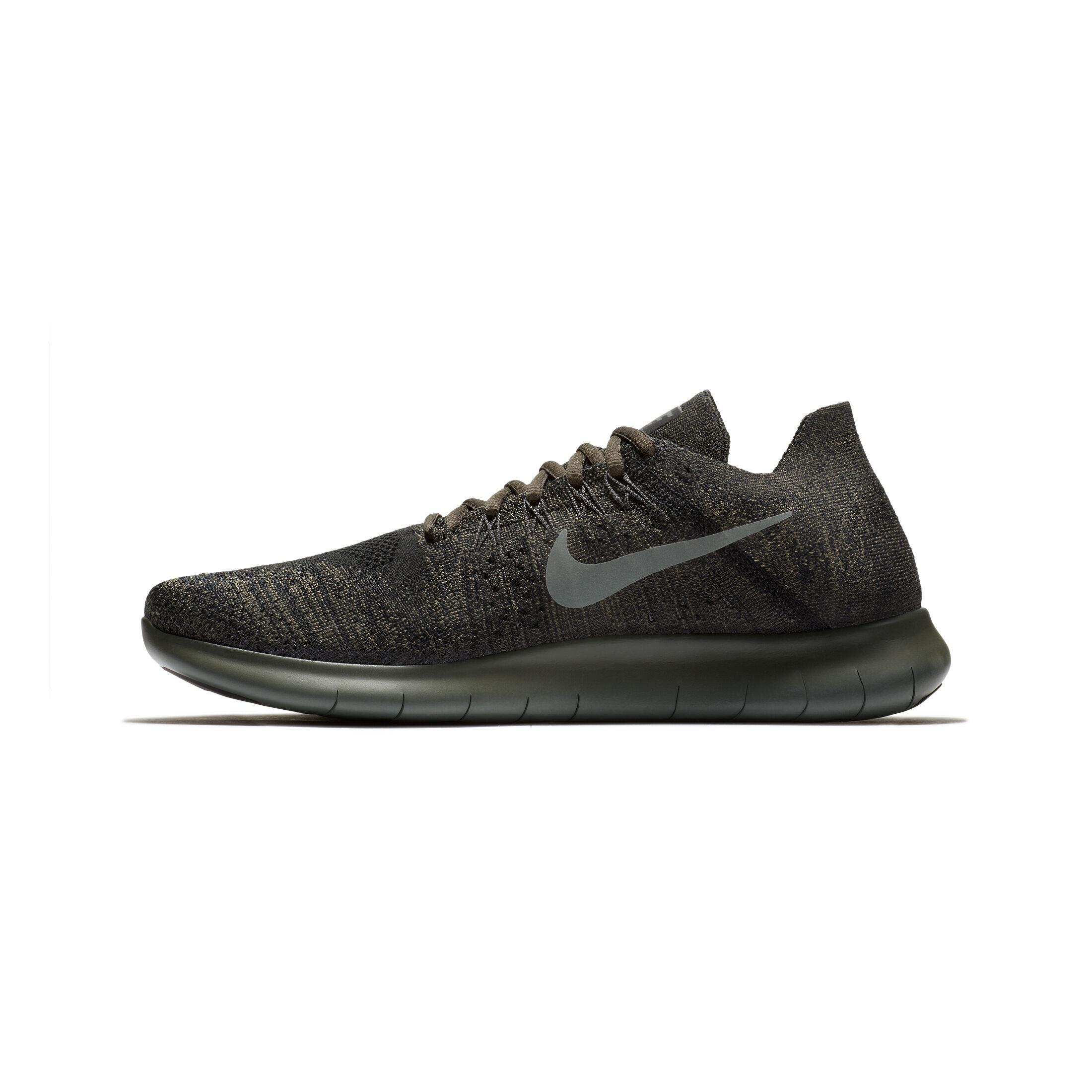 Nike Free Run Flyknit 2017 Fitnessschoen Heren Zwart