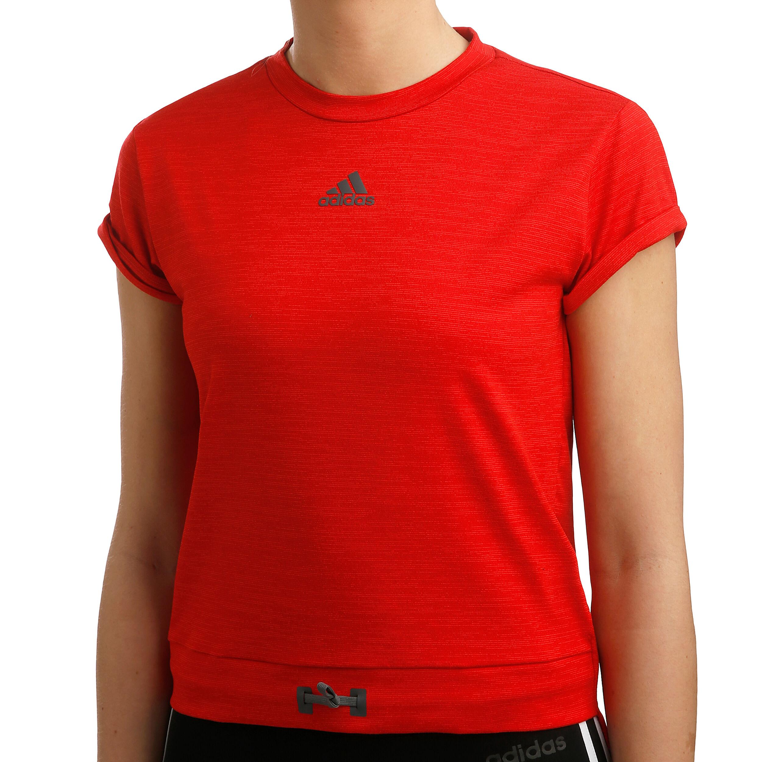 adidas MatchCode T shirt Dames Rood, Donkergrijs online