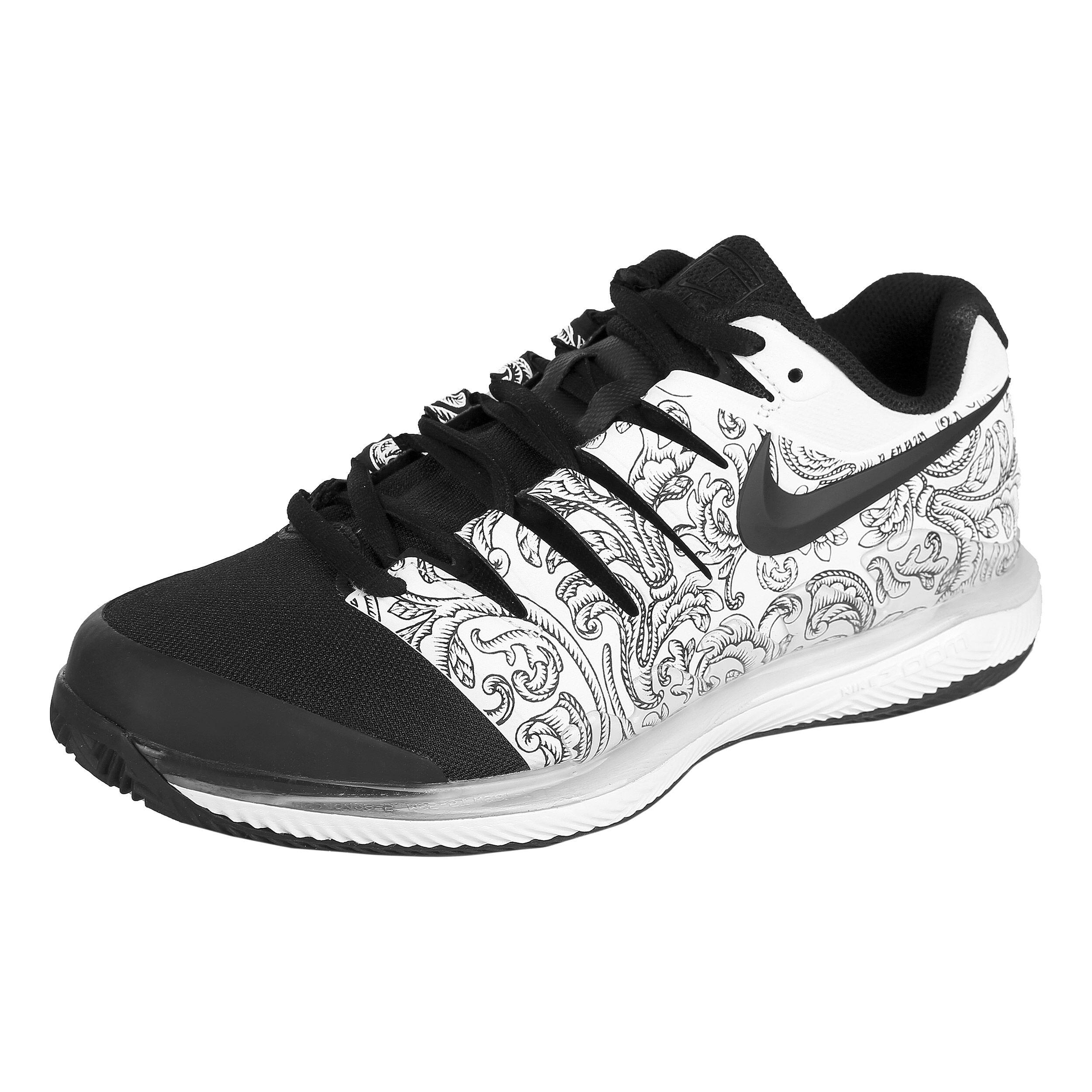 Nike Air Zoom Vapor X Clay Gravelschoen Dames - Wit, Zwart ...