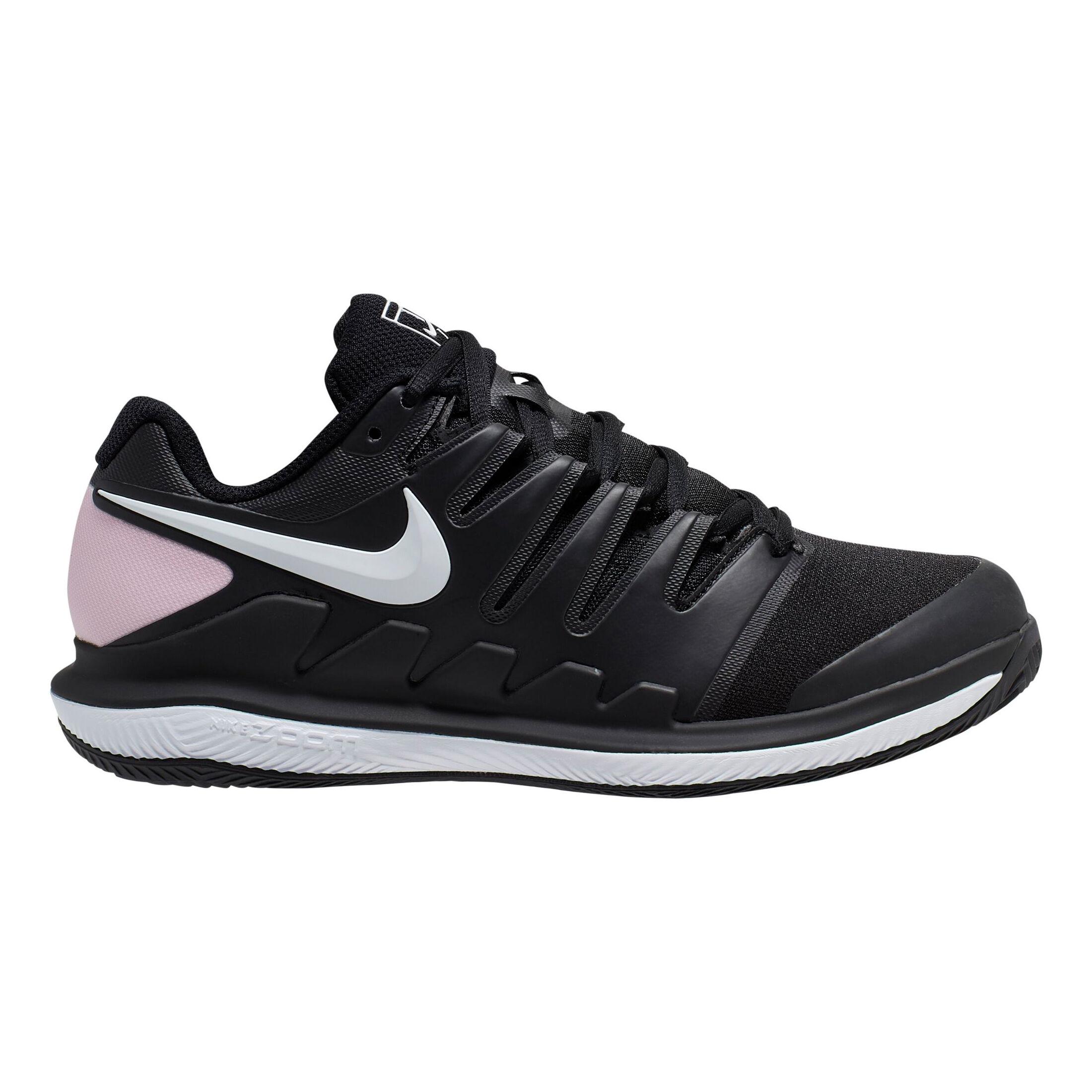 Nike Air Zoom Vapor X Clay Gravelschoen Dames - Zwart, Wit