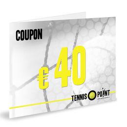 Coupon 40 Euro