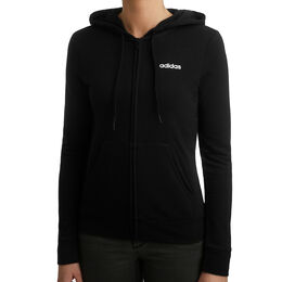 Essentials Plain Full-Zip Hoodie Women
