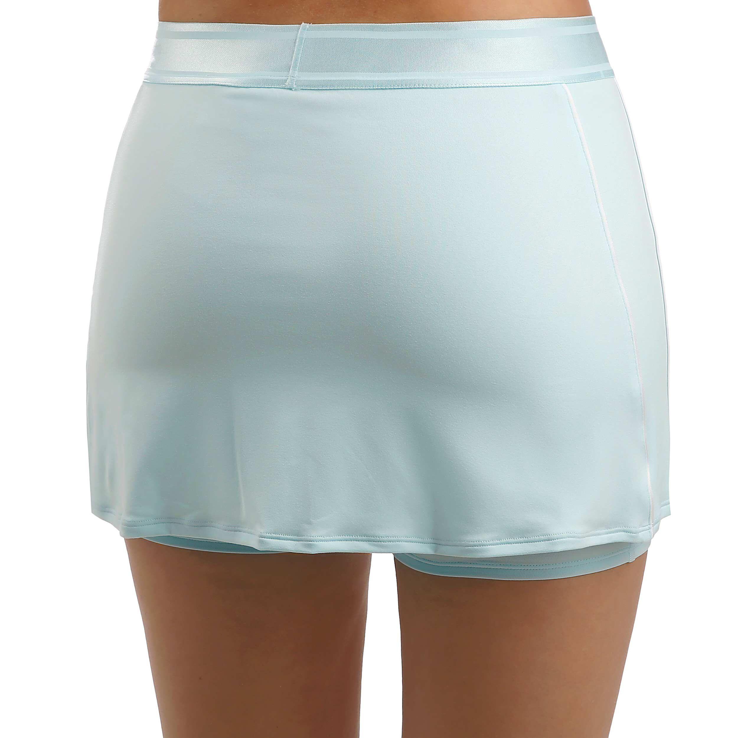 Nike Court Dry Rok Dames Lichtblauw, Zilver