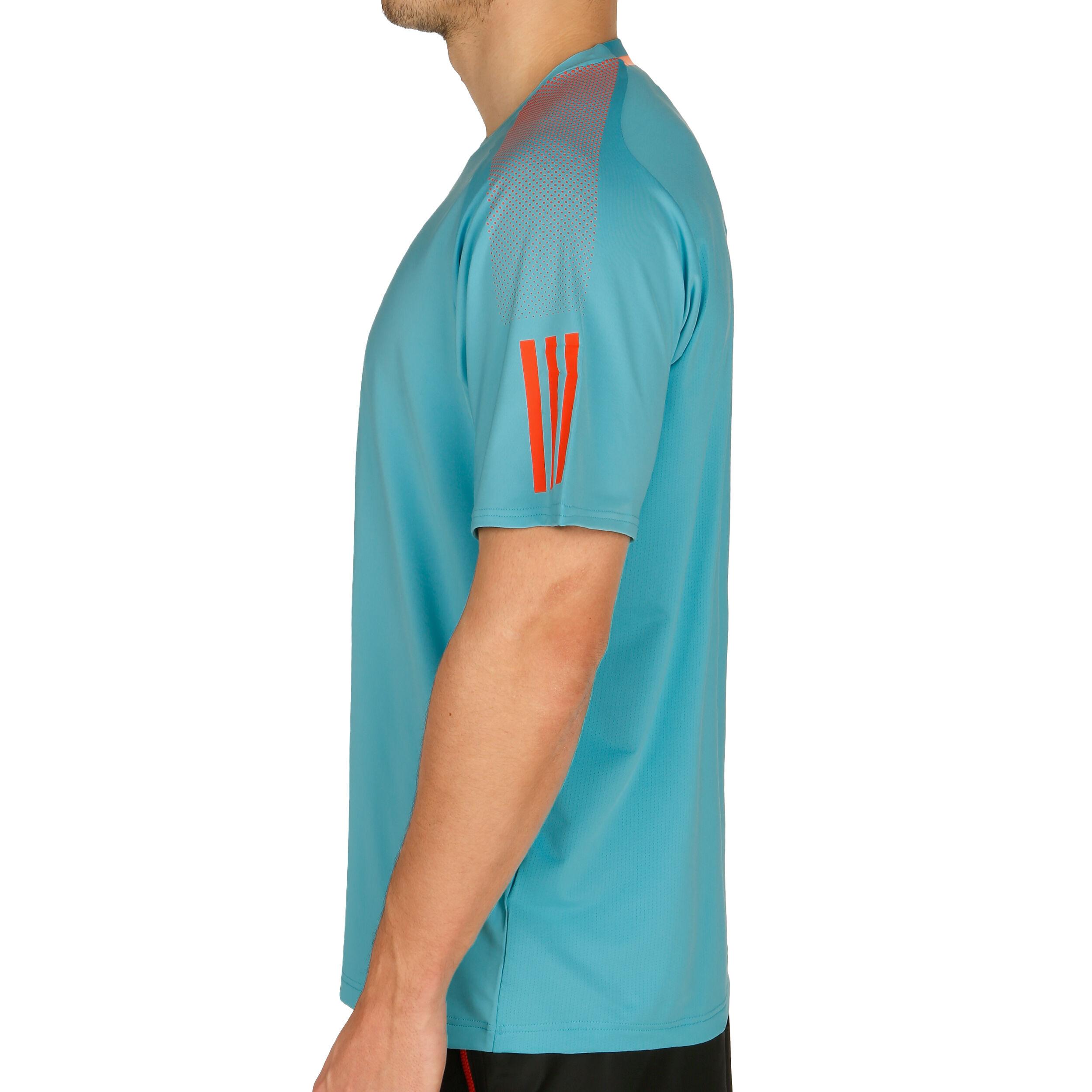 adidas Barricade T shirt Heren Turkoois, Oranje online