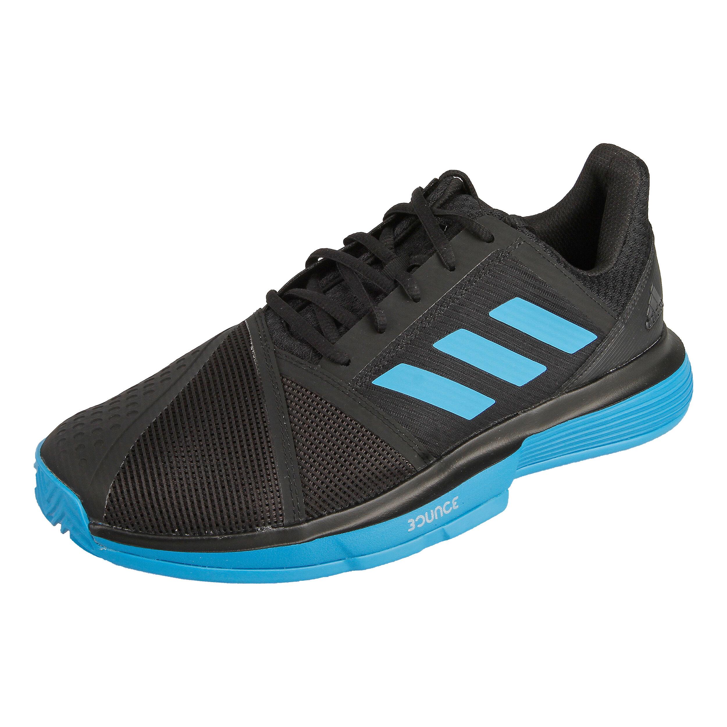 adidas Court Jam Bounce Clay Gravelschoen Heren - Zwart ...