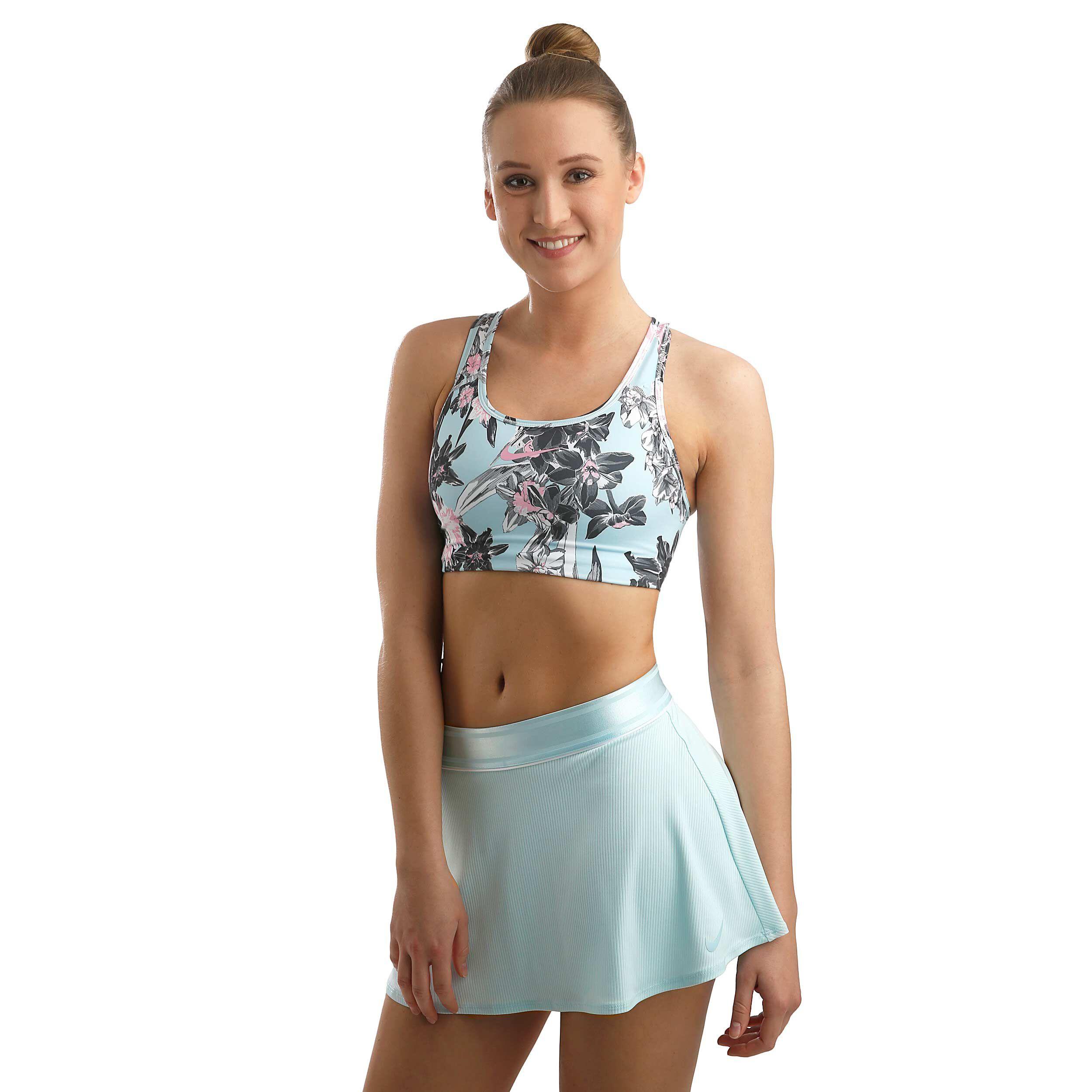 Nike Court Dry Rok Dames Lichtblauw, Zilver online kopen