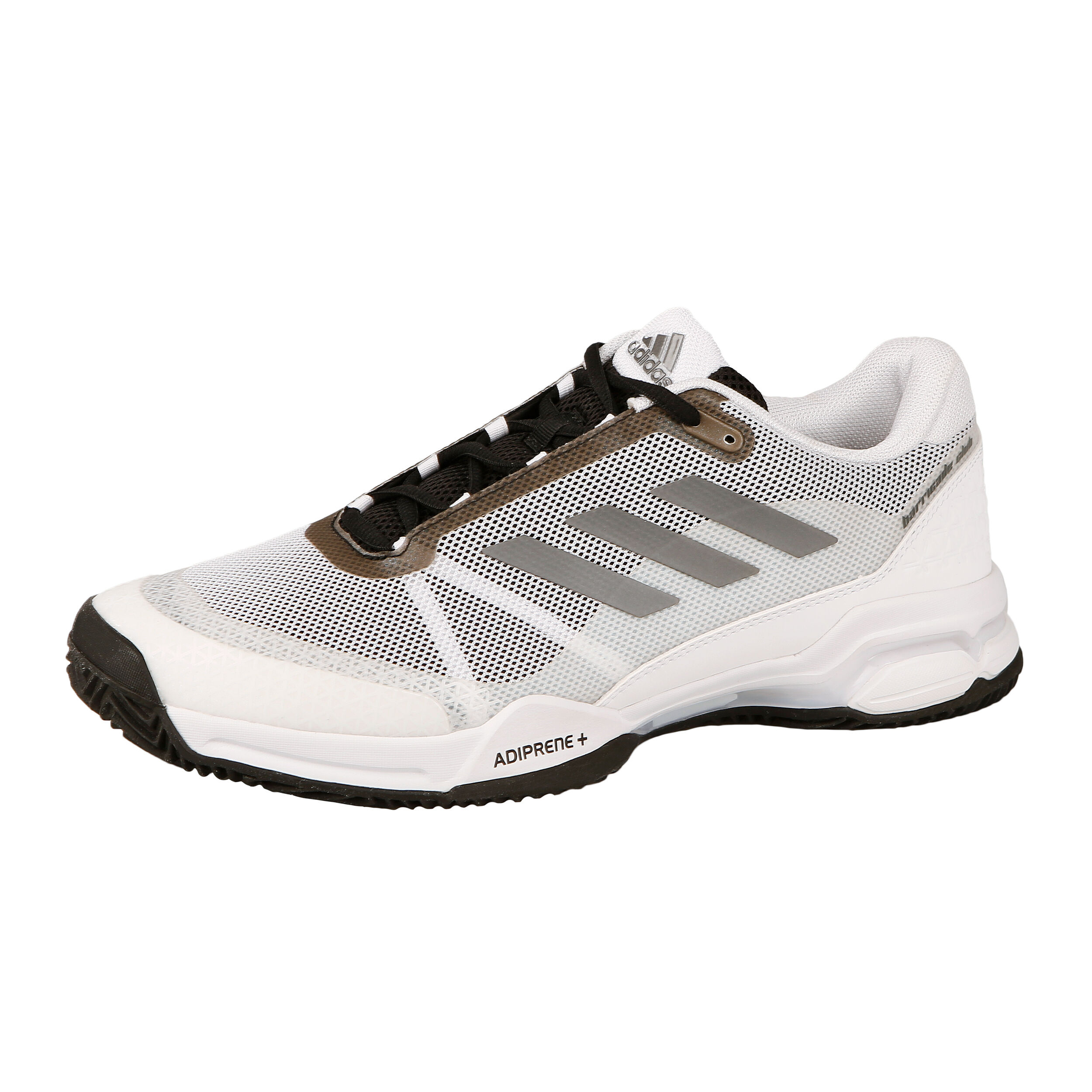 adidas Barricade Club Clay Gravelschoen Heren - Wit, Zwart ...