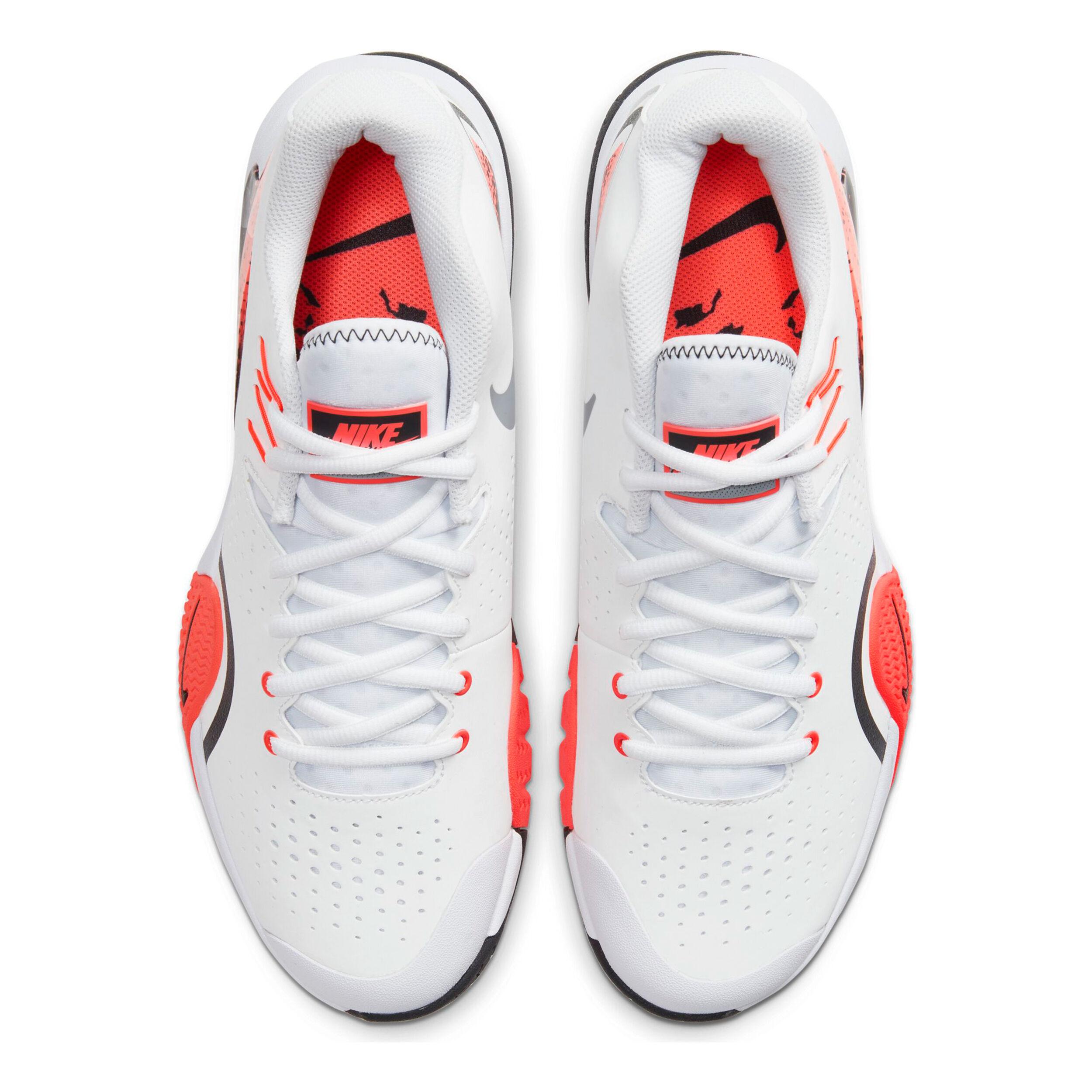 Nike Tech Challenge 20 Allcourt Schoen Heren Wit, Grijs