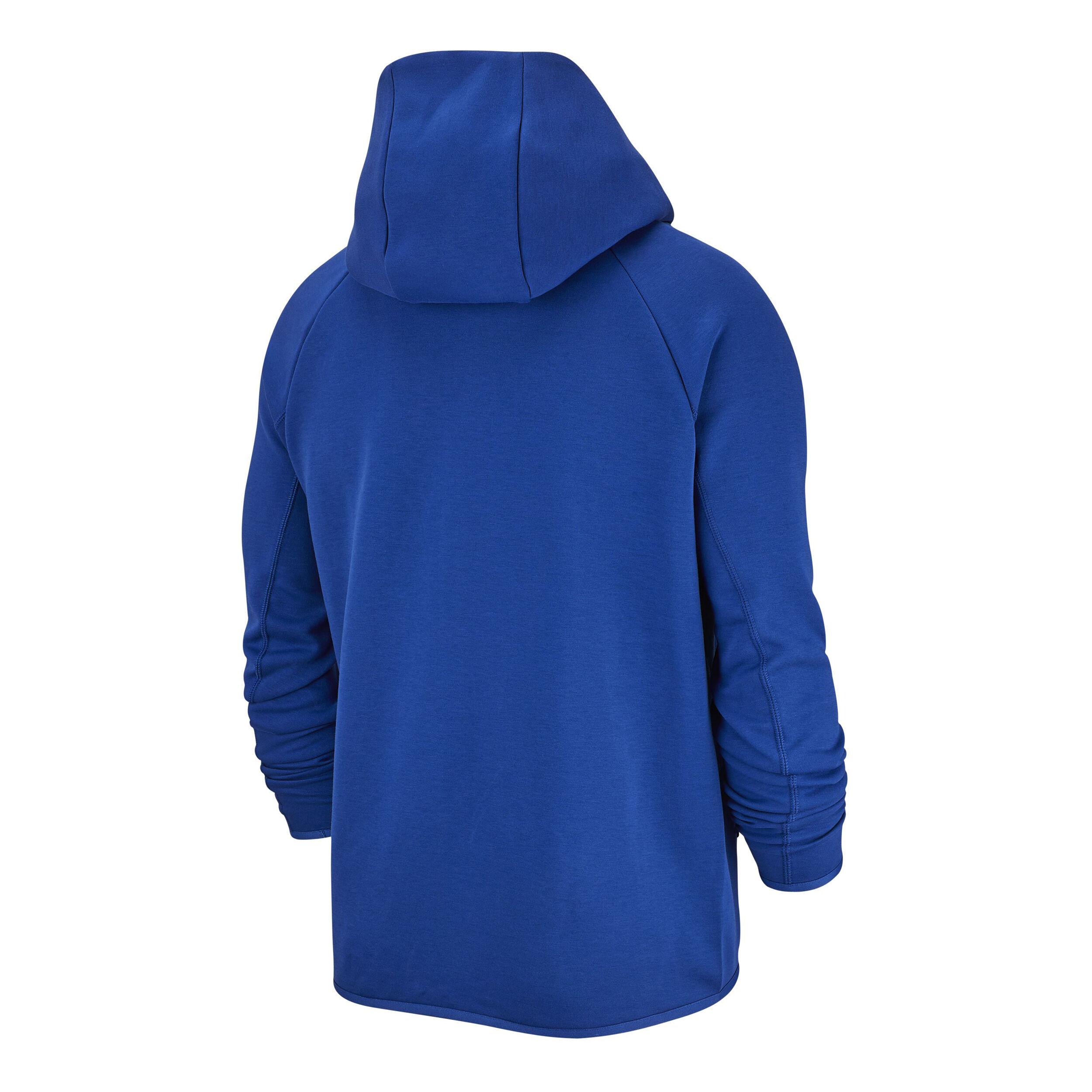 Nike Sportswear Tech Fleece Trainingsjack Heren Blauw, Wit