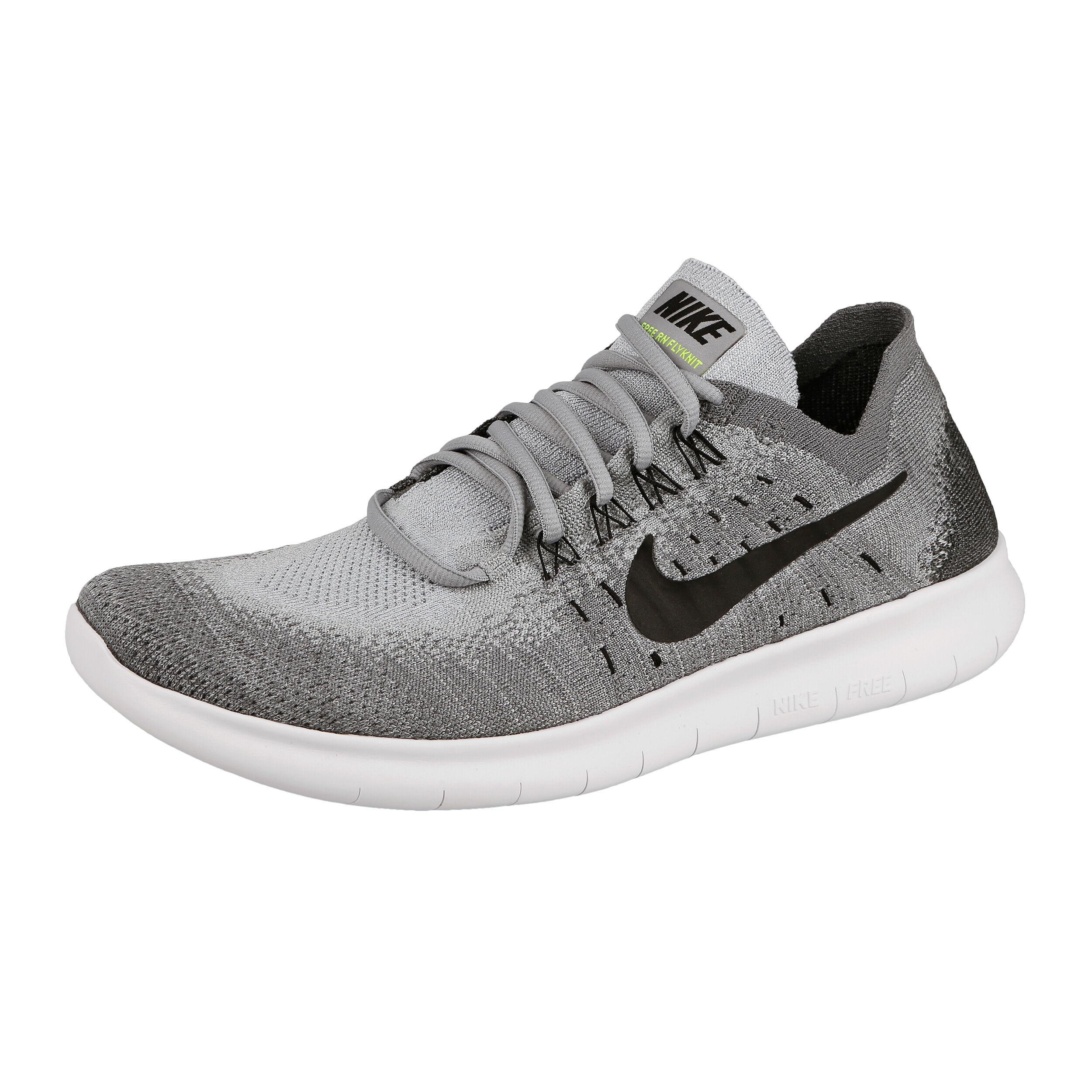 Nike Free Run Flyknit 2017 Fitnessschoen Heren Lichtgrijs, Grijs