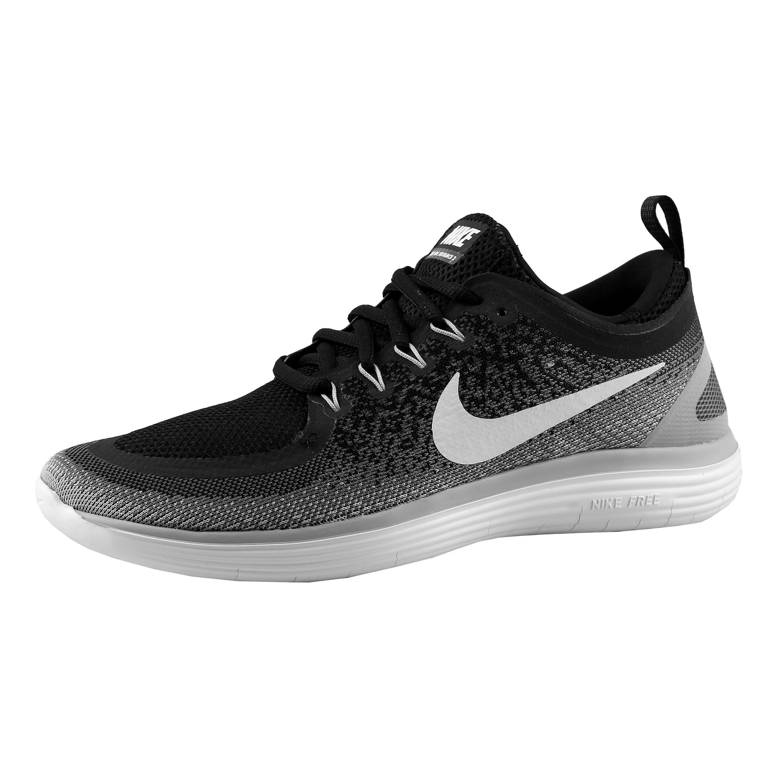 Nike Free Run Distance 2 Fitnessschoen Dames Zwart, Wit