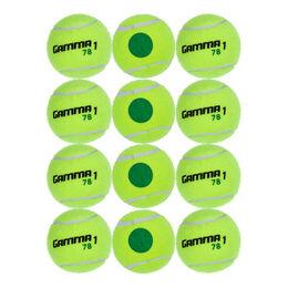 Tennisball Stage 1, Green Dot 12er Beutel