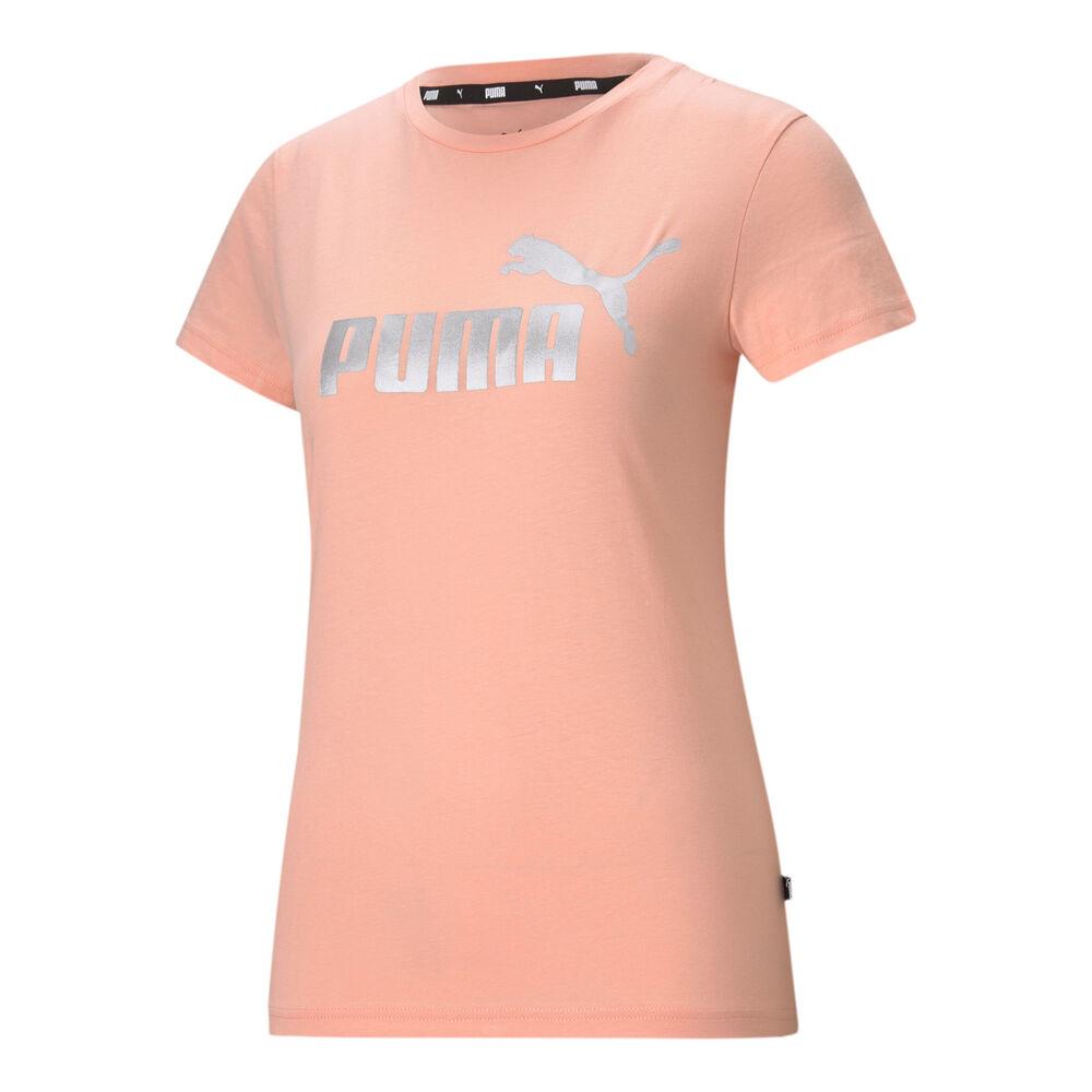Puma Essential Metallic Logo T-shirt Dames