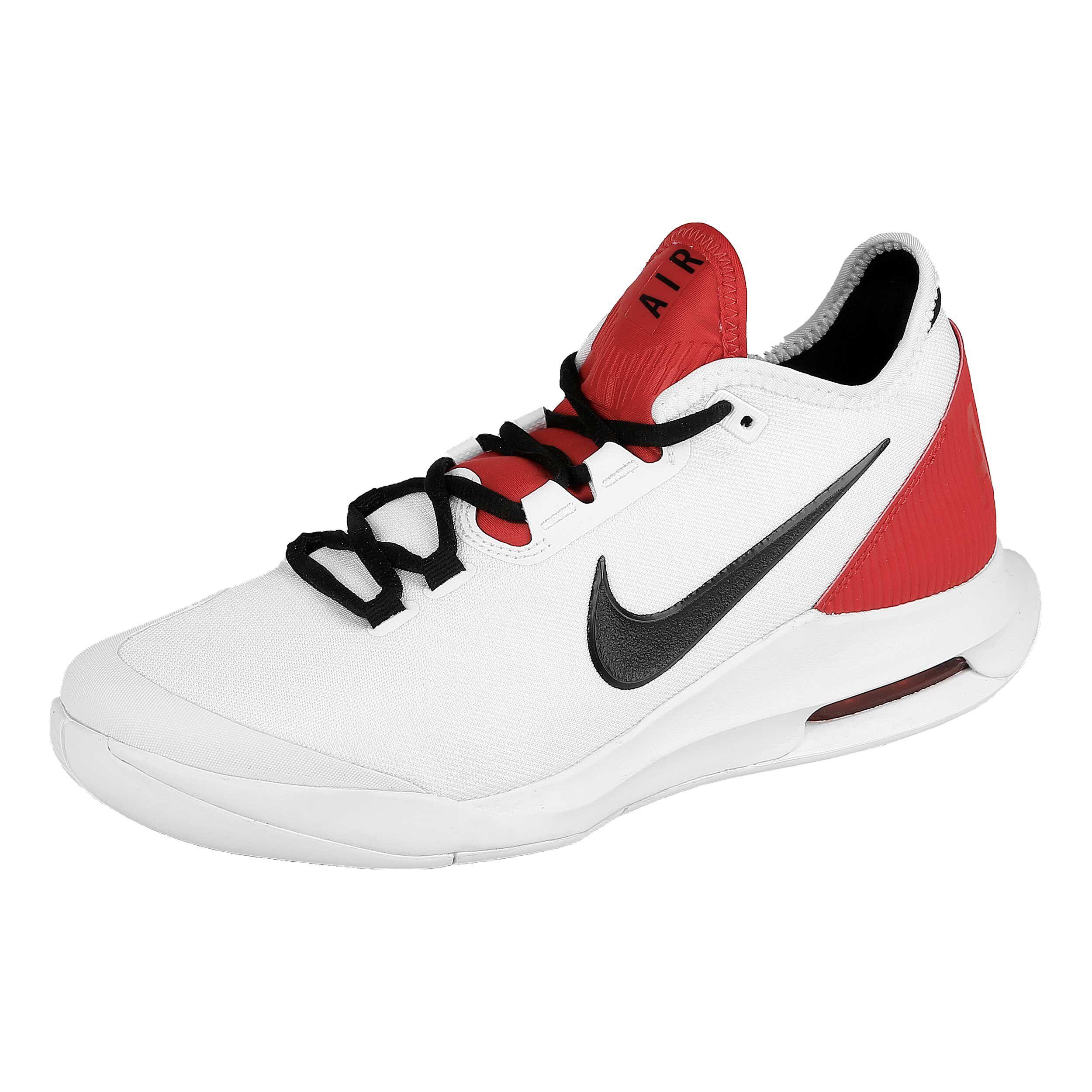 Nike Air Max Wildcard Allcourt Schoen Heren Wit, Rood